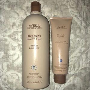 Aveda Blue Mulva Shampoo & Conditioner